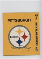 Pittsburgh Steelers Logo (Yellow Border)