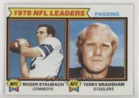 Passing Leaders (Roger Staubach, Terry Bradshaw)