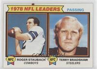 Passing Leaders (Roger Staubach, Terry Bradshaw) [GoodtoVG‑EX]