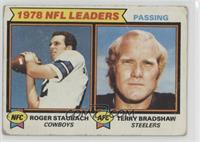 Roger Staubach, Terry Bradshaw [Poor to Fair]