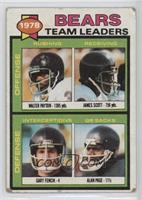 Walter Payton, James Scott, Gary Fencik, Alan Page) [Poor to Fair]