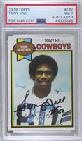 Tony Hill [PSA/DNA Certified Encased]