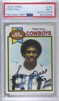 Tony Hill [PSA/DNACertifiedEncased]