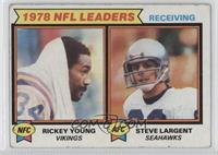 Rickey Young, Steve Largent [GoodtoVG‑EX]