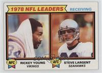 Rickey Young, Steve Largent [Good to VG‑EX]