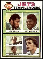 Kevin Long, Wesley Walker, Bobby Jackson, Burgess Owens, Joe Klecko [NM]