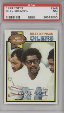 1979 Topps - [Base] #246 - Billy Johnson [PSA 7 NM]