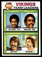 Chuck Foreman, Ahmad Rashad, Bobby Bryant, Mark Mullaney [NM]
