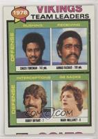 Chuck Foreman, Ahmad Rashad, Bobby Bryant, Mark Mullaney