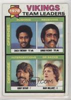 Chuck Foreman, Ahmad Rashad, Bobby Bryant, Mark Mullaney [GoodtoVG&…