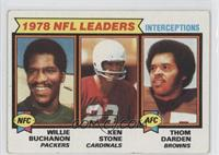 Willie Buchanon, Thom Darden, Ken Stone