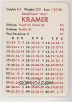 Jerry Kramer (Defense: Tackle (3))