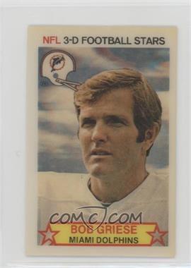 1980 Stop 'n Go NFL 3-D Football Stars - [Base] #28 - Bob Griese