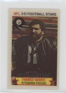 1980 Stop 'n Go NFL 3-D Football Stars - [Base] #7 - Franco Harris