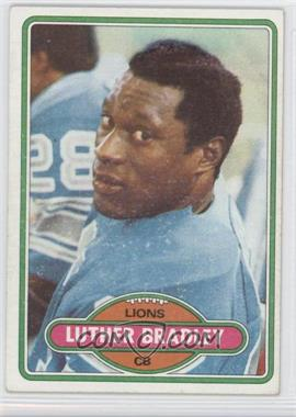 1980 Topps - [Base] #103 - Luther Bradley
