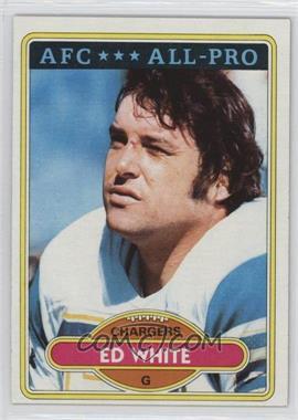 1980 Topps - [Base] #190 - Ed White