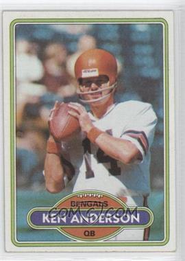 1980 Topps - [Base] #388 - Ken Anderson