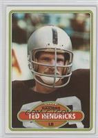 Ted Hendricks [Poor]