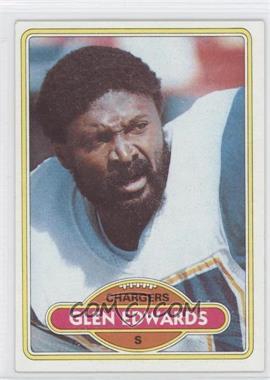 1980 Topps - [Base] #88 - Glen Edwards