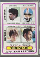 Denver Broncos (Otis Armstrong, Rick Upchurch, Steve Foley, Brison Manor) [Poor]