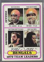 Cincinnati Bengals (Pete Johnson, Don Bass, Dick Jauron, Gary Burley) [Good&nbs…