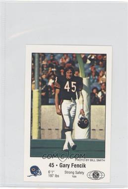 best sneakers fc21a eb376 1981 Chicago Bears Police - [Base] #N/A - Gary Fencik