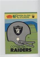 Oakland Raiders (Helmet)