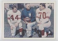 Kyle Rote, Jim Lee Howell, Roy Krause
