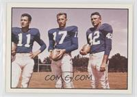 Don Heinrich, Tom Dublinski, Charlie Conerly