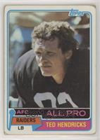 Ted Hendricks [EX to NM]
