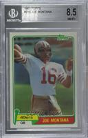 Joe Montana [BGS 8.5 NM‑MT+]