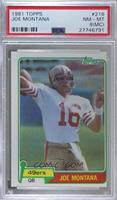 Joe Montana [PSA 8 NM‑MT (MC)]
