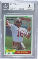 Joe Montana [BGS 8 NM‑MT]