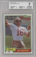 Joe Montana [BGS 7 NEAR MINT]