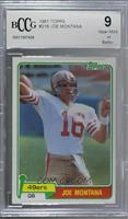 Joe Montana [BCCG Near Mint]