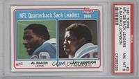 NFL Quarterback Sack Leaders [PSA8NM‑MT]