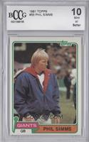Phil Simms [BCCG Mint]