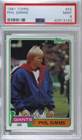 Phil Simms [PSA 9 MINT]