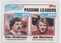 Passing Leaders - Ken Anderson, Joe Montana