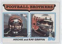Football Brothers - Archie and Ray Griffin