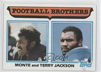 Football Brothers - Monte and Terry Jackson