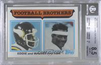 Football Brothers - Eddie and Walter Payton [BGS 8.5 NM‑MT+]