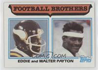 Football Brothers - Eddie and Walter Payton