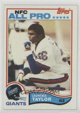 1982 Topps - [Base] #434 - Lawrence Taylor