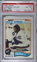 Lawrence Taylor [PSA 8 NM‑MT]