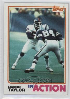 1982 Topps - [Base] #435 - Lawrence Taylor