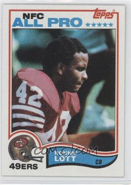 1982 Topps - [Base] #486 - Ronnie Lott