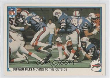 1983 Fleer NFL Team Action - [Base] #5 - Moving to the Outside