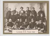 Latrobe YMCA Team 1895 (Horizontal Back)
