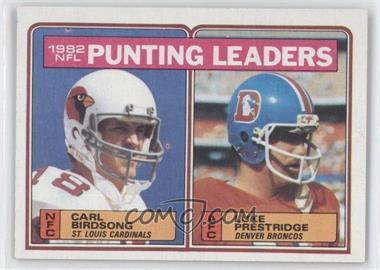 1983 Topps - [Base] #207 - Carl Birdsong, Luke Prestridge